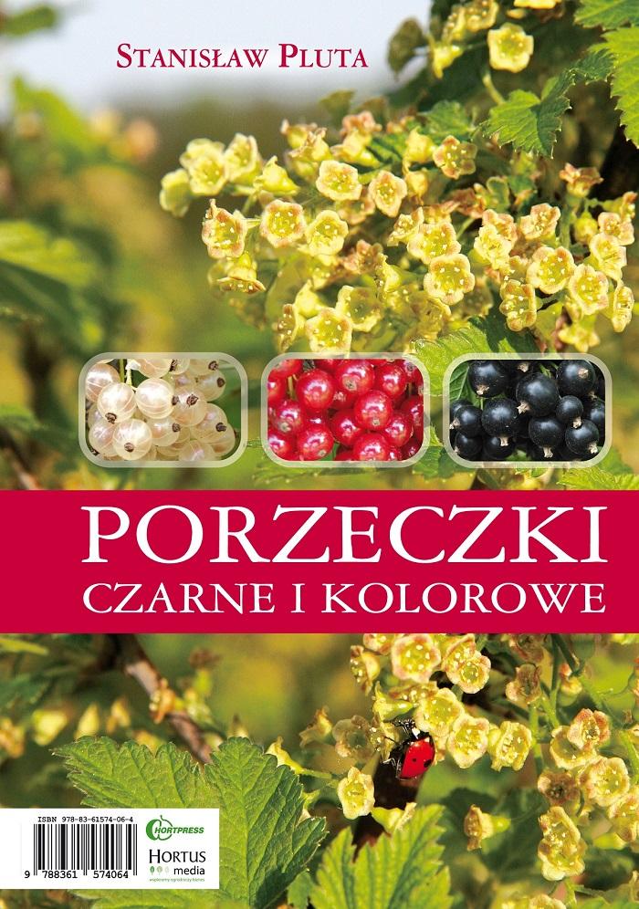 czarna porzeczka uprawa, książka o czarnej porzeczce, porzeczki czarne i kolorowe książka, Stanisław pluta