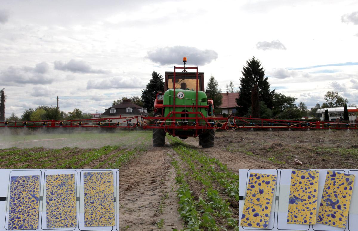 mechanizacja, ochrona rośli, rozpylacze, ograniczenie znoszenia