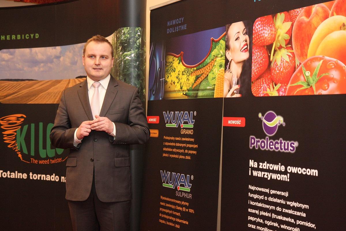 F&N Agro Polska, FMC Corporation, NUFARM, Sumitomo, Wuxal, Prolectus 50 WG, Sławomir Doniec