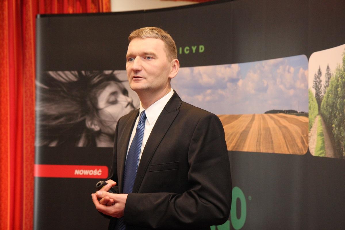 F&N Agro Polska, FMC Corporation, NUFARM, Sumitomo, Wuxal, Prolectus 50 WG, Grzegorz Wieszołek