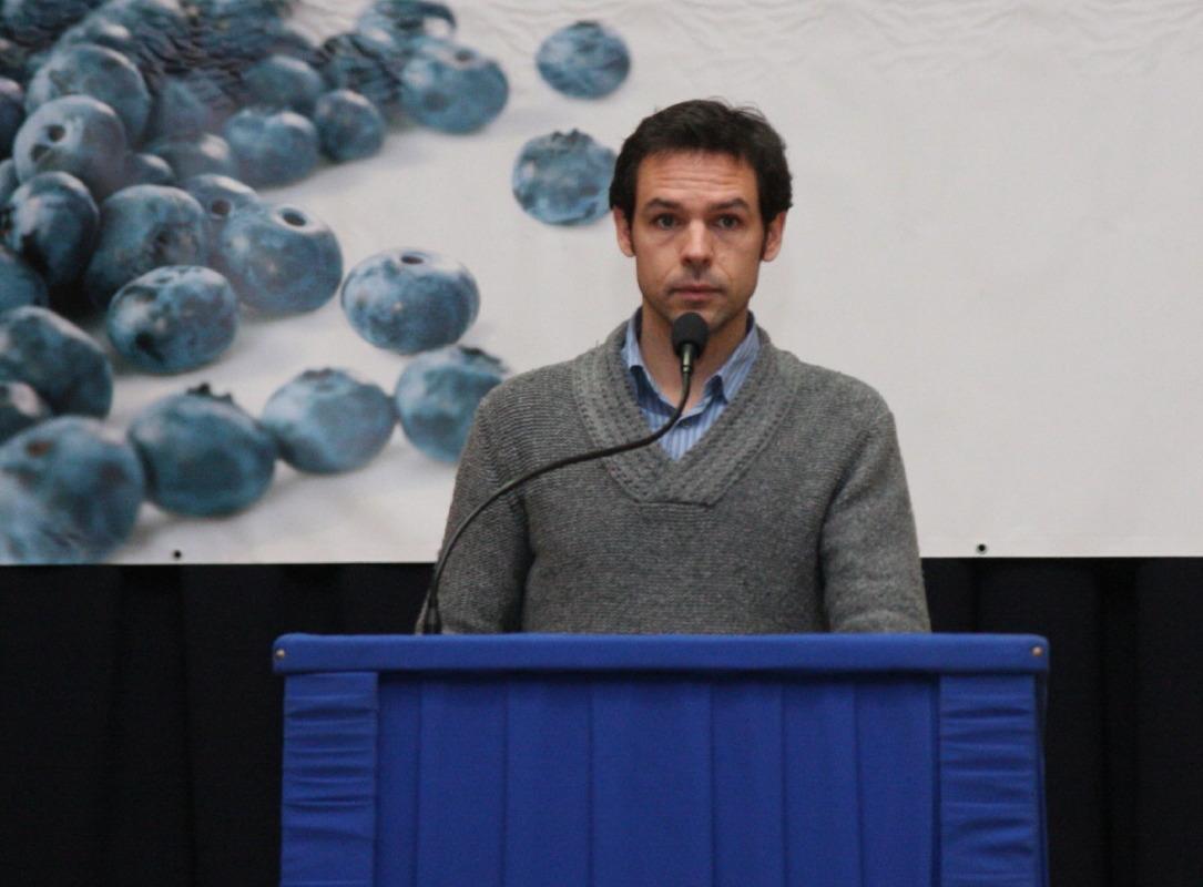 Julien Rocherieux z francuskiego oddziału firmy Planasa