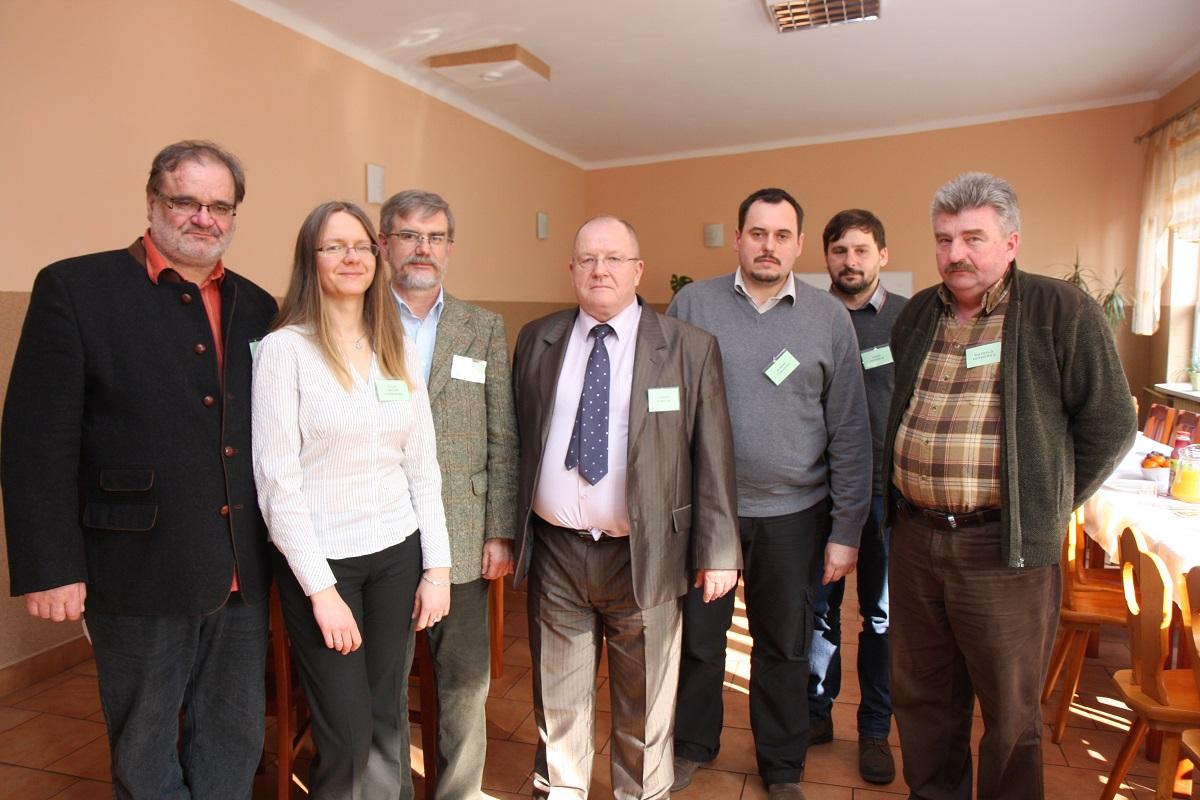 Na zdjęciu (od lewej): Leszek Spytek, Łucja Orłow-Gozdowska, Piotr Eggert, Andrzej Karolak, Robert Laskowski, Paweł Dzierżek, Waldemar Zienkiewicz