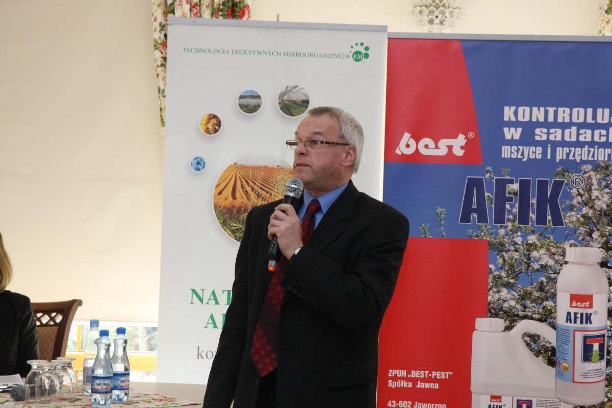 prof. Jerzy Lisek z IO w Skierniewicach