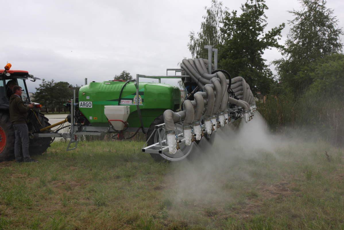 Agro Kaliński, opryskiwacze do truskawek