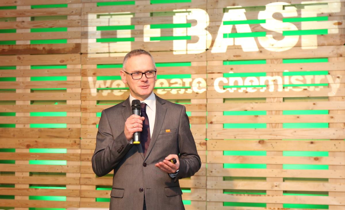 Cezary Urban z firmy BASF Polska