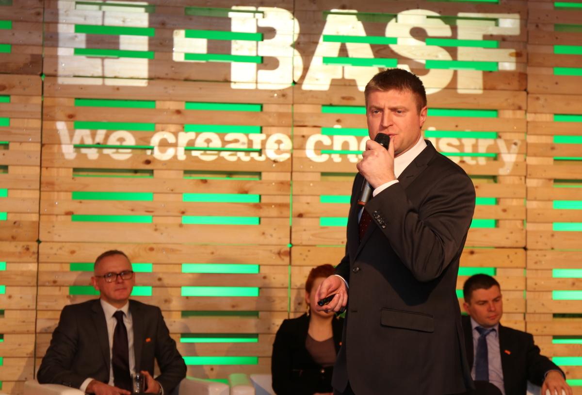 Marek Chojnacki z firmy BASF Polska