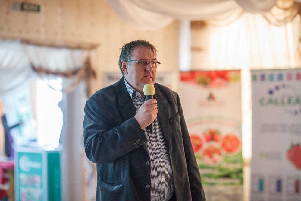 Krzysztof Dunajski z firmy Bayer CropScience