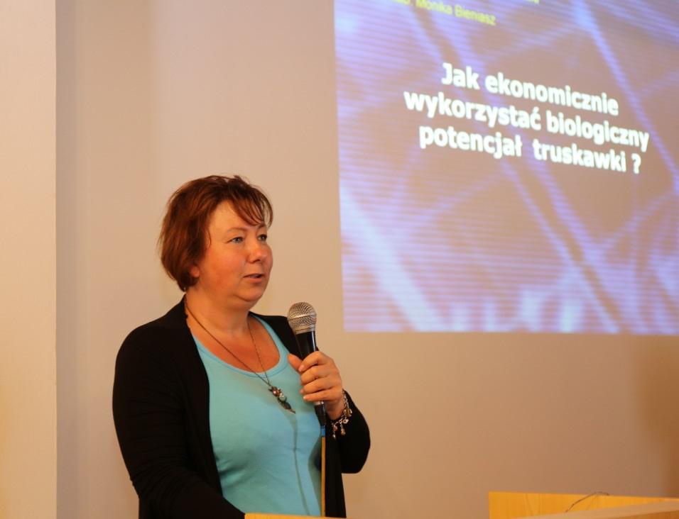 Dr hab. Monika Bieniasz z UR w Krakowie