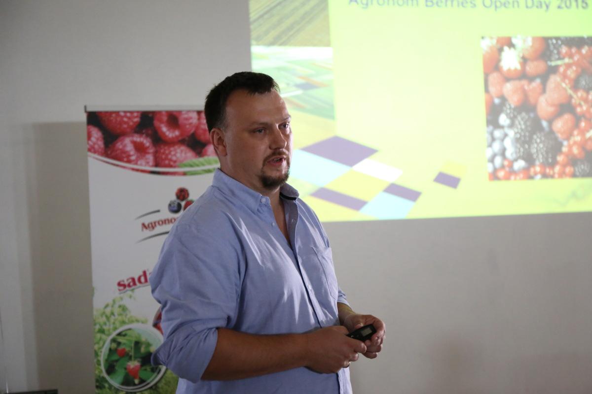 Mariusz Padewski z firmy DLV Plant