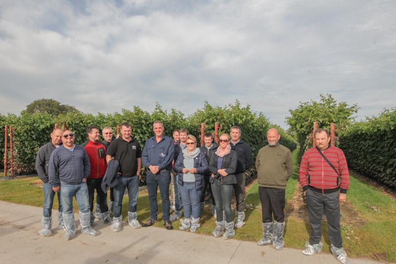 Uczestnicy wyjazdu do Holandii