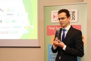 Piotr Barański z firmy Agrosimex