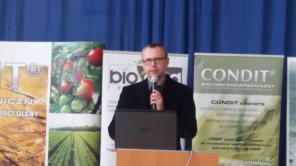 Dr Andrzej Grenda z Yara Poland omówił zasady poprawnego nawożenia krzewów jagodowych