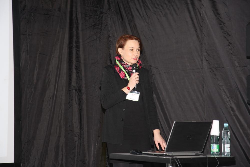 Dr hab. inż. Anna Bieniek omówiła doświadczenia ze świdośliwą prowadzone na północy Polski