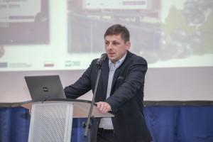 Piotr Zieliński reprezentujący Stowarzyszenie Plantatorów Truskawki zachęcał do wstępowania w jego szeregi