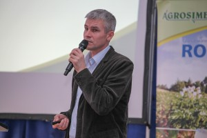 Robert Binkiewicz zachęcał do uczestniczenia w klubie Jagodowym organizowanym przez Agrosimex