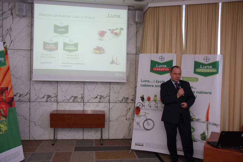 Informacje o nowych produktach w ofercie firmy przekazał Mirosław Korzeniowski