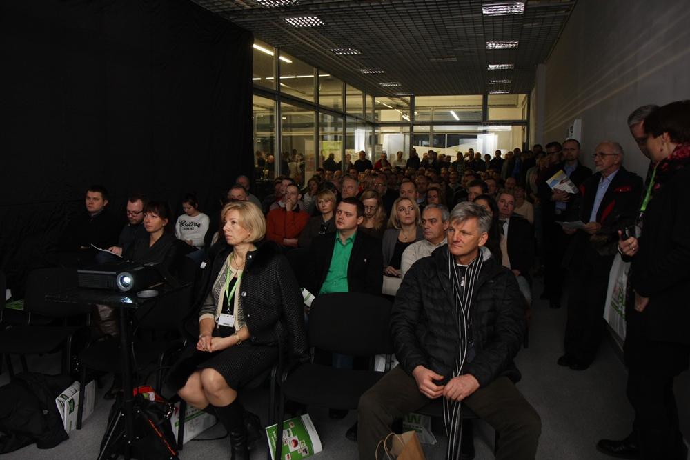 Organizatorzy nie spodziewali się tak olbrzymiego zainteresowania tematyką konferencji
