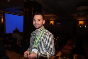 Ross McNeil na I Konferencji Kamczackiej we Mszczonowie