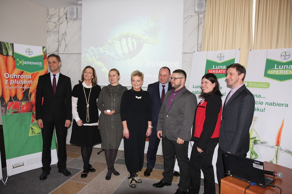 Zespół pracowników firmy Bayer zaangazowanych w organizację konferencji 19 stycznia