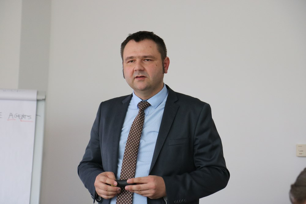 Andrzej Miąsko zaprezentował wyniki doświadczeń na plantacjach, gdzie stosowano produkty ICL