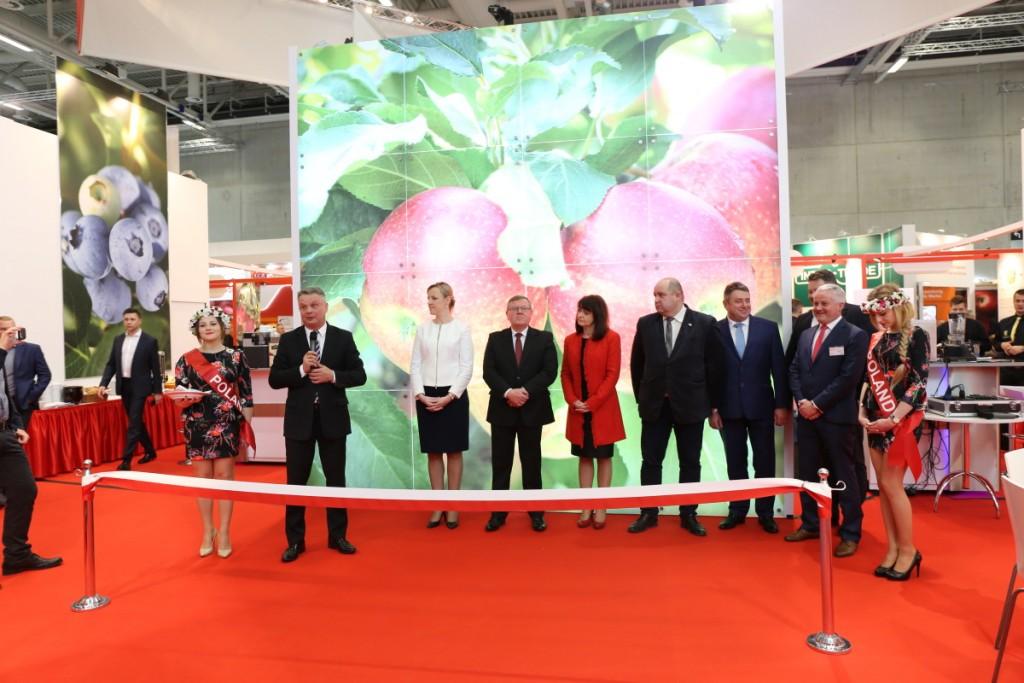 Oficjalne otwarcie polskiego stoiska narodowego