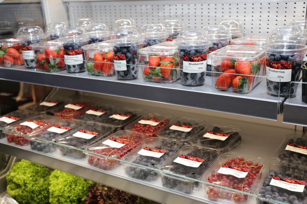 Opakowania jednostkowe dla owoców jagodowych