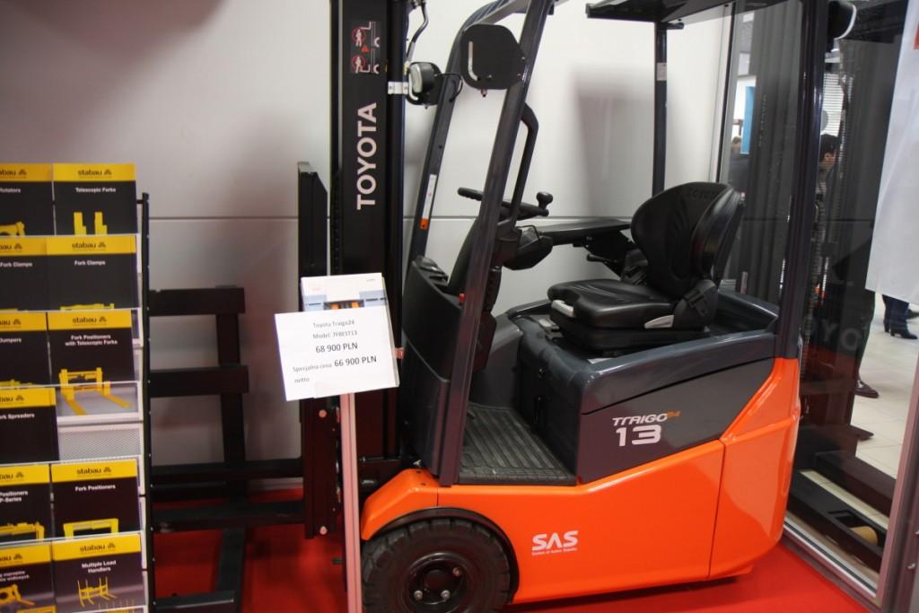 W Nadarzynie demonstrowany był model 7FBEST13, którego promocyjna cena wynosi 66 900 zł (netto)