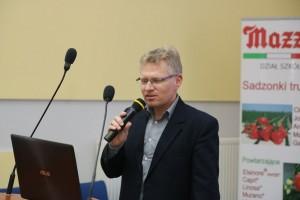 Dr Paweł Krawiec mówił nie tylko o truskawkach ale i o malinach
