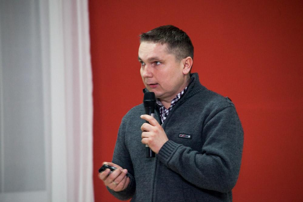 Janusz Góra z firmy Arysta LifeScience