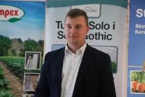 Maciej Wita z BASF wsłuchiwał się w głosy plantatorów i chętnie odpowiadał na pytania