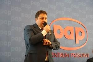 Jarosław Wańkowski omówił działalność stowarzyszenia