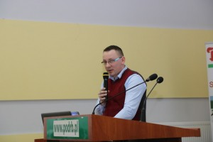 Wojciech Kopeć z firmy Yara Poland mówił o nawożeniu plantacji
