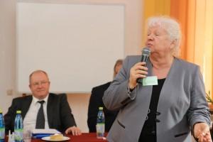 Prof. dr hab. Iwona Wawer na skierniewickim spotkaniu