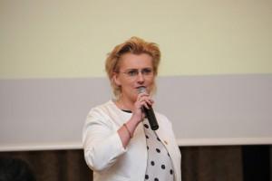 Historię i osiągnięcia firmy Agrosimex przybliżyła Agnieszka Egbers