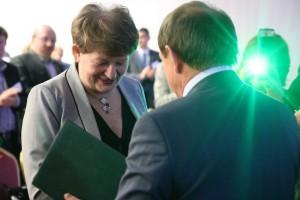 Dr Bożena Nosecka została honorowycm członkiem stowarzyszenia przetwórców