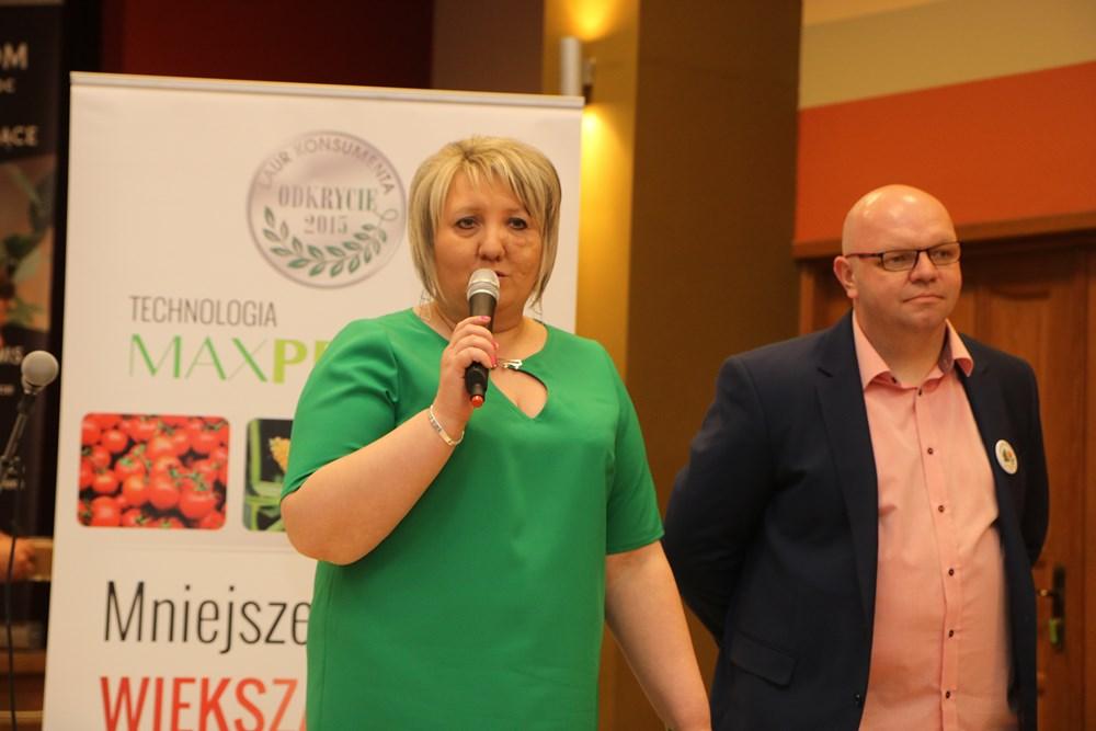 Pani Monika Kroc aktywnie wspierała męża Tomasza w wysiłkach organizatorskich