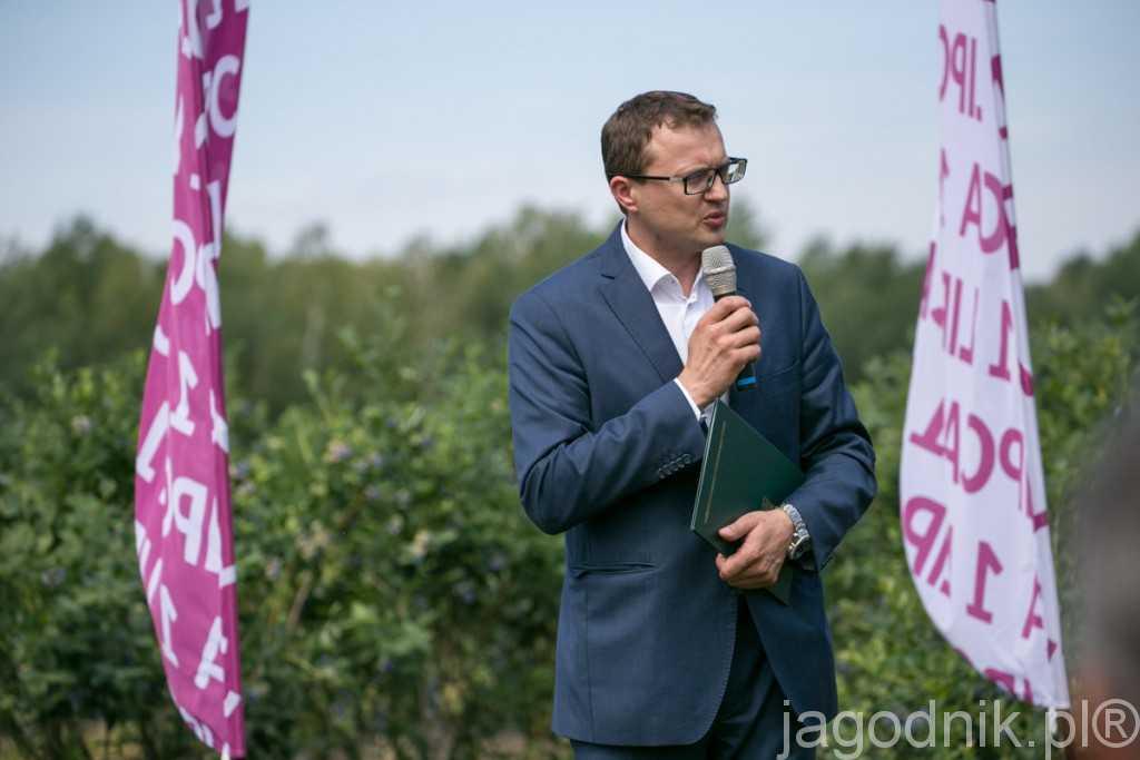głos zabrał Jarosław Sierszchulski, Zastępca Prezesa Agencji Restrukturyzacji i Modernizacji Rolnictwa