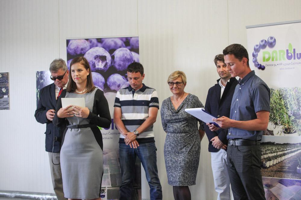 Uroczystego otwarcie poprowadzili Nikola Kutnjak i Agata Małkiewicz