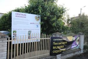 Jedna z 20 stacji z murarką ogrodową na terenie Polski