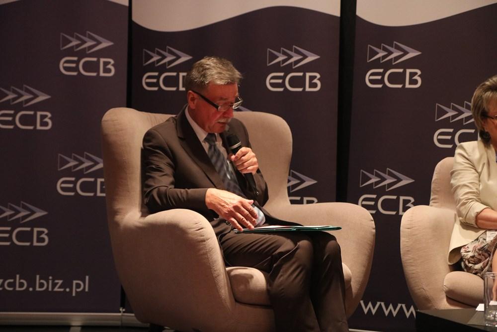 Moderator panelu sadowniczego, Witold Boguta z KZGPOiW