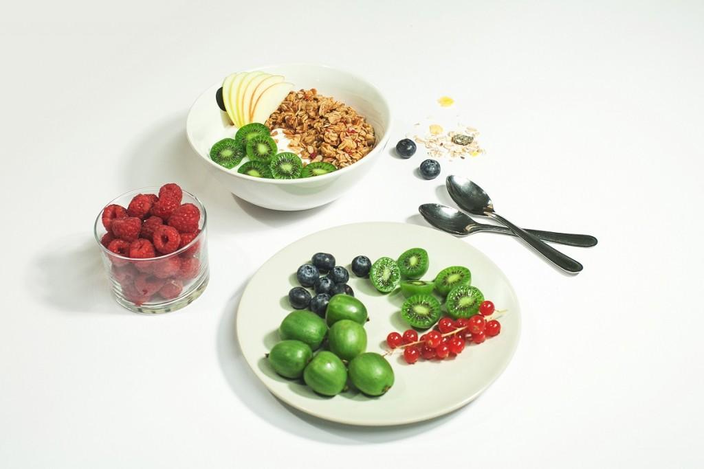 Minikiwi jest owocem niskokalorycznym
