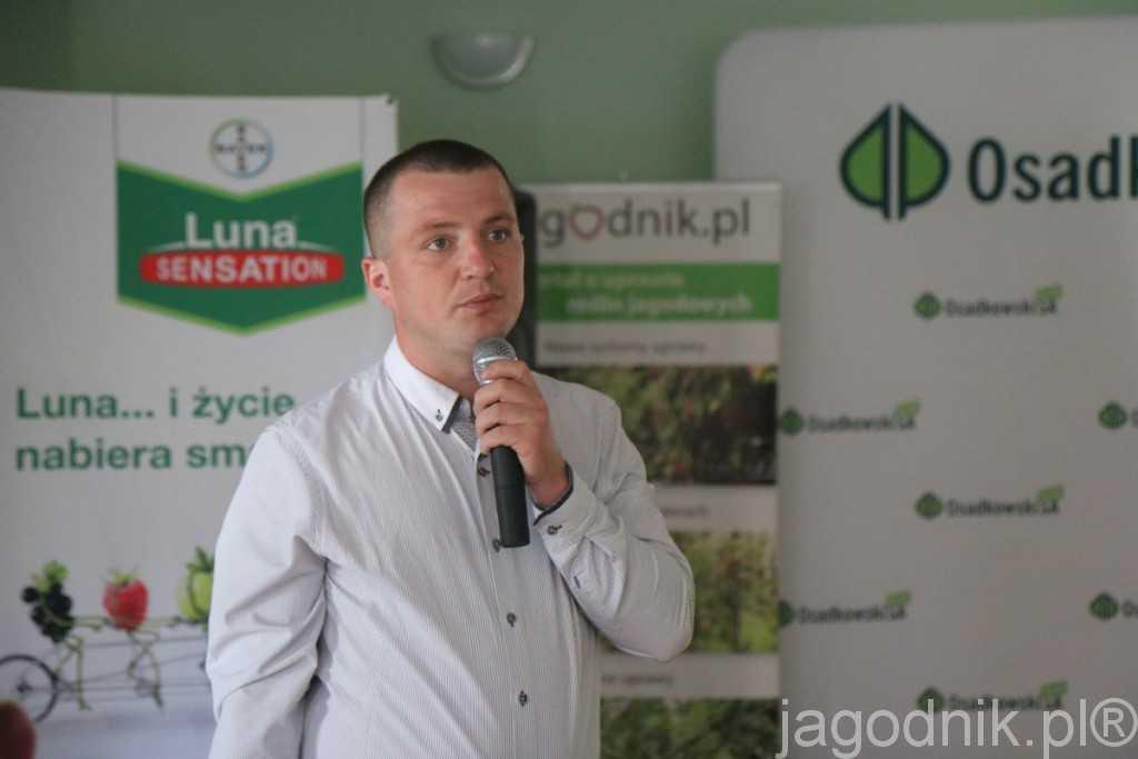 Podsumowanie zaleceń realizowanych w Grupie Truskawkowej dokonał Albert Zwierzyński z firmy Osadkowski SA
