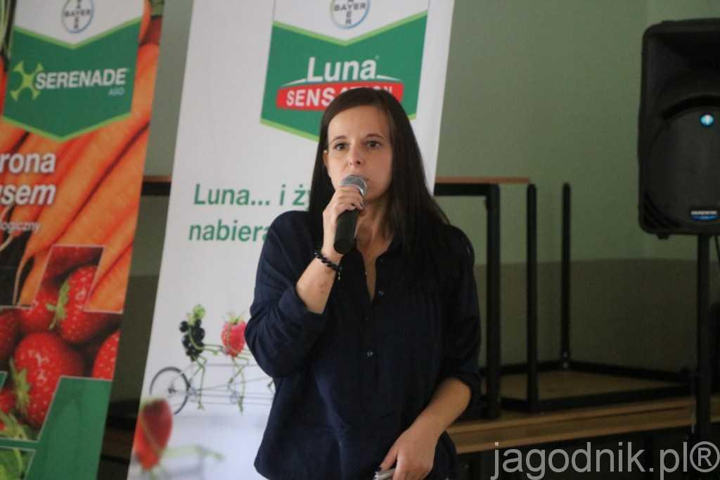 Rozwiązania wspierające środki ochrony roślin w ochronie przed patogenami były tematem wystąpienie dr Karoliny Pitura z UP w Lublinie
