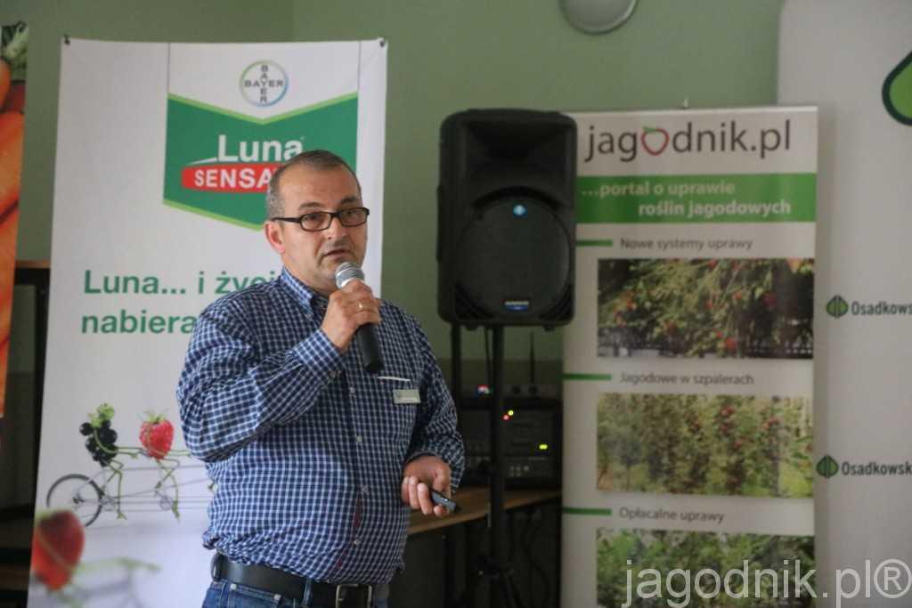Wczesne i późne odmiany – zalecenia dotyczące ich uprawy były tematem wystąpienia Zbigniewa Pisarka z firmy Flevoplant