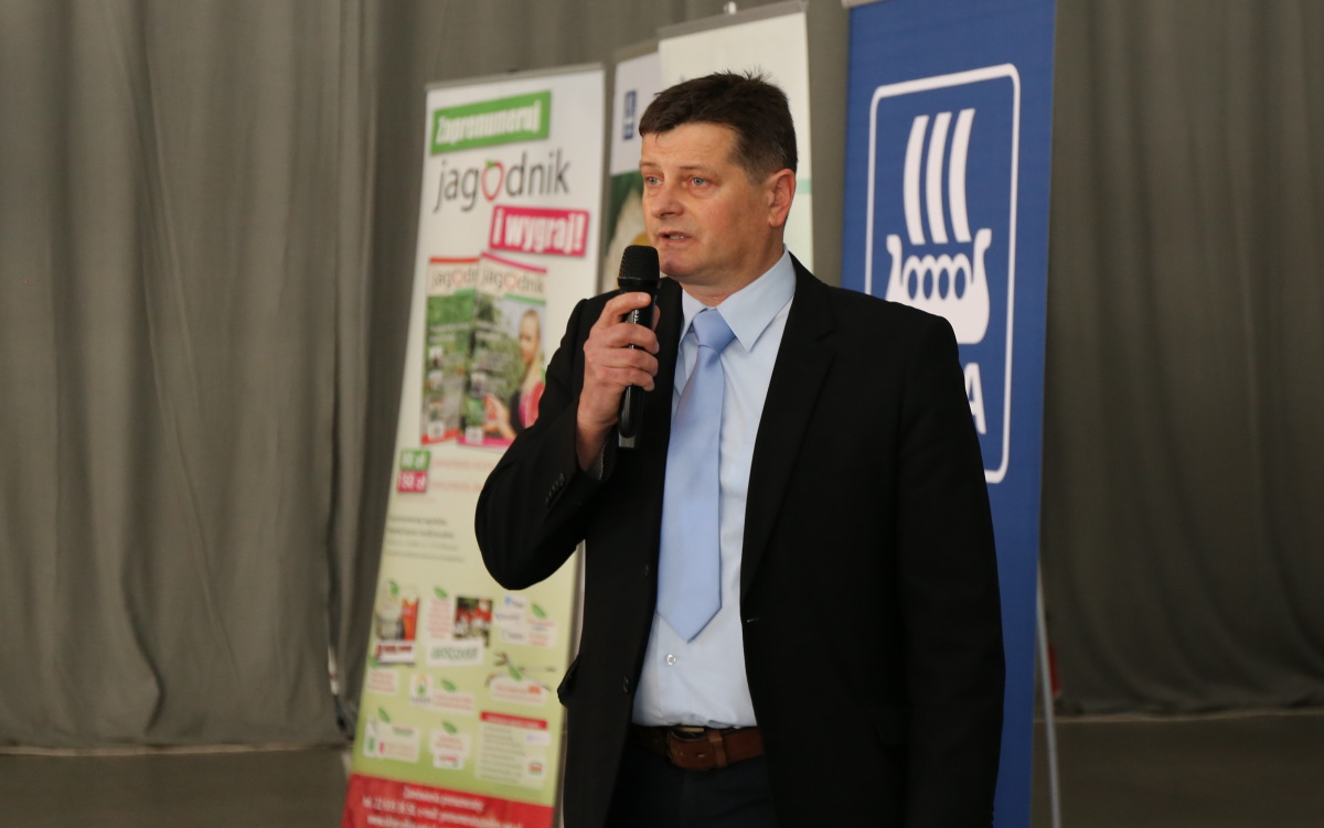 Nowoczesna diagnostyka podstawa optymalnego plonowania malin była tematem wystąpienia dr hab. Zbigniew Jarosz, UP w Lublinie