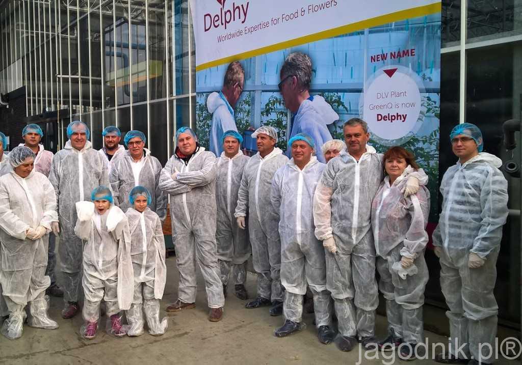 Goście z Polski w centrum badawczym Delphy