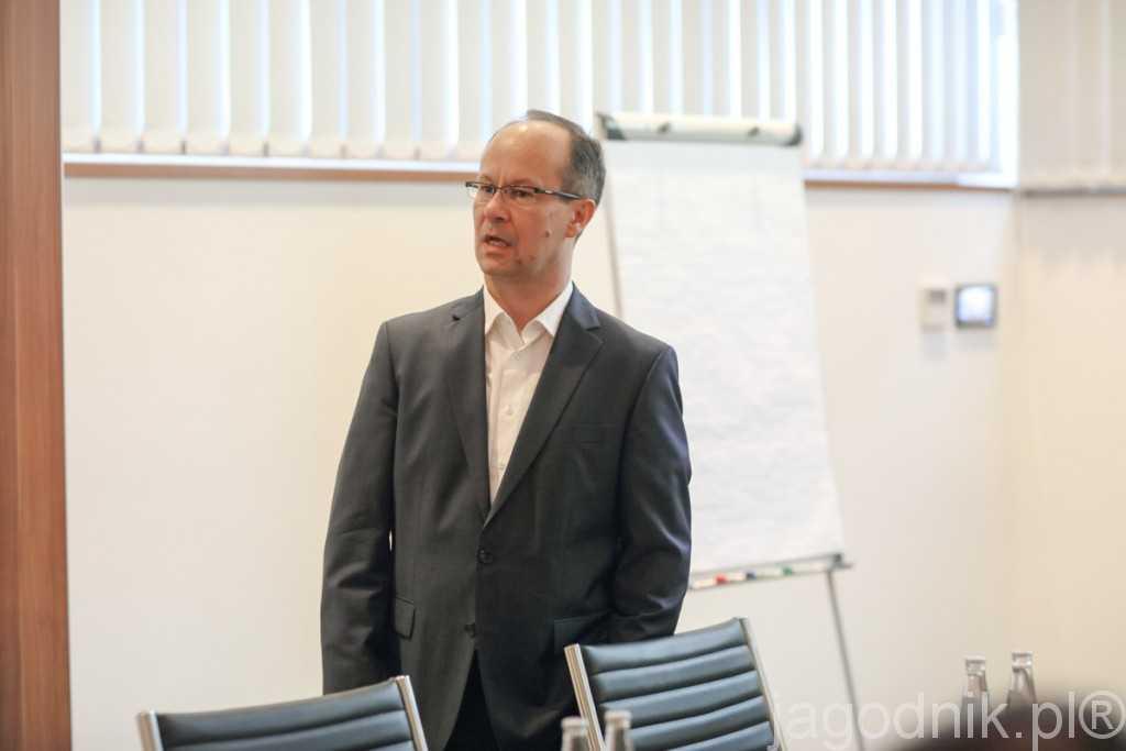 Spotkanie poprowadził Maciej Dolata z INSPIRE smarter branding