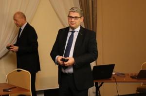 Piotr Lubaszka z firmy Intermag