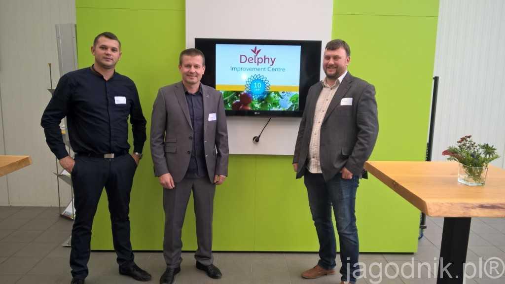 Krzysztof Żabówka, Tomasz Krasowski i Mariusz Padewski to jedni z kilku polskich doradców pracujących w firmie Delphy